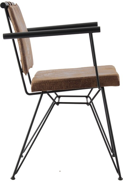 Ak Sandalye Endustrıyel Pyz Metal Sandalye
