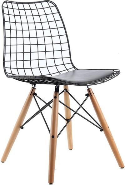 Ak Sandalye Kafesli Metal Am7 Sandalye