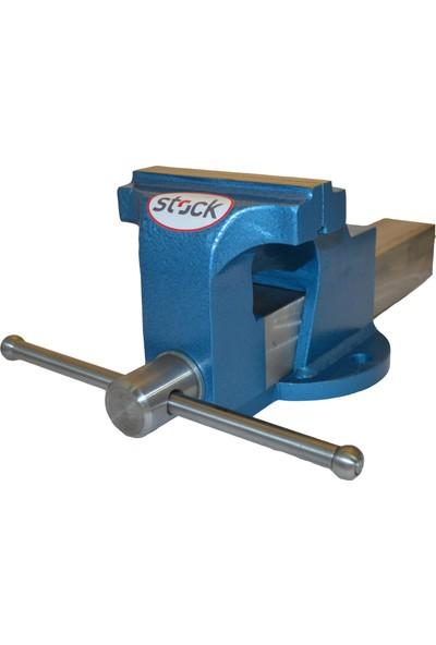 Stock 150 mm Tezgah Mengene (Dövme Çelik/Yerli Üretim)