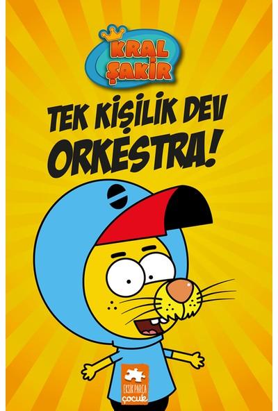 Kral Şakir Tek Kişilik Dev Orkestra! (Ciltli) - Varol Yaşaroğlu