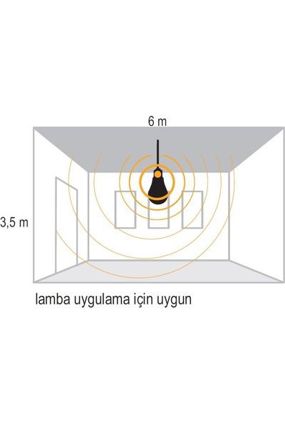 Pelsan Hareket Sensörlü Duy 360 Derece E27