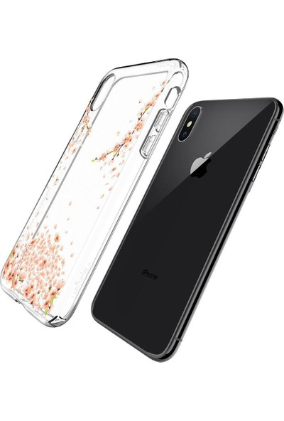 Spigen Apple iPhone XS / iPhone X Kılıf Liquid Shine Blossom - 057CS22121