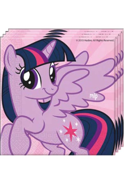Balon Evi Orijinal Lisanslı My Little Pony 20'lı Kağıt Peçete