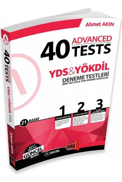 Akın Dil & Yargı Yayınevi YDS & YÖKDİL 40 Advanced Tests 21. Baskı