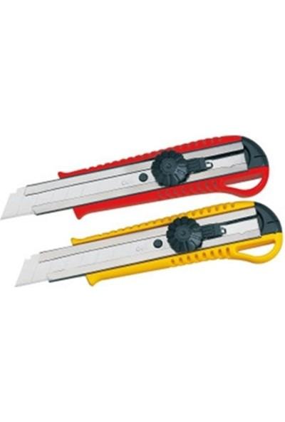 Modatools Maket Bıçağı Yuvarlak Kilitli 18 Mm. 8521