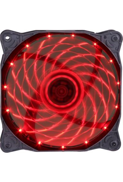 Gamepower GF-12R 12CM Kırmızı LED Kasa Fanı