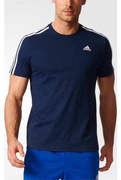 Adidas Essentials 3S Erkek Lacivert T-Shirt B47359