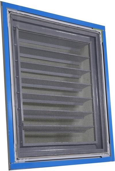 Simge 30X30 Beyaz Alüminyum Menfez Banyo Ve Wc Havalandırma Panjur