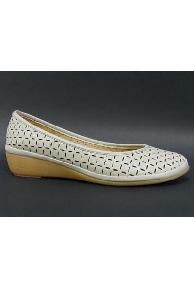 Paprika 12776 Bej Bayan Babet Ayakkabı