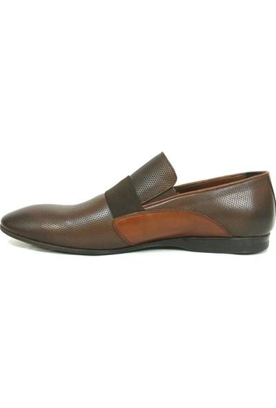 Tozkoparan 738 Kahverengi %100 Deri Erkek Ayakkabı