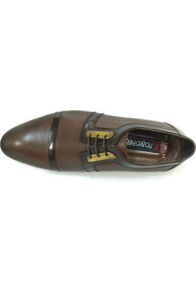 Tozkoparan 739 Kahverengi %100 Deri Erkek Ayakkabı