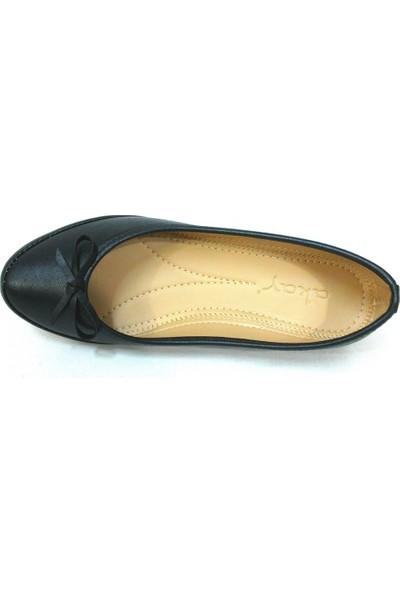 Paprika Akay Siyah Bayan Babet Ayakkabı