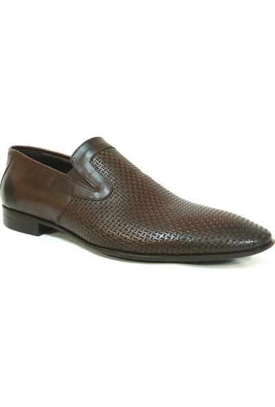 Tozkoparan 222 Kahverengi Bağcıksız Erkek Ayakkabı