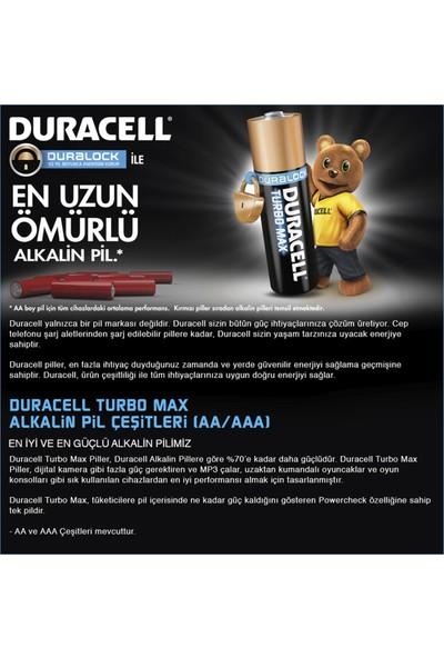 Duracell Ultra Alkalin AAA İnce Kalem Pil (8+4) 12'li Paket