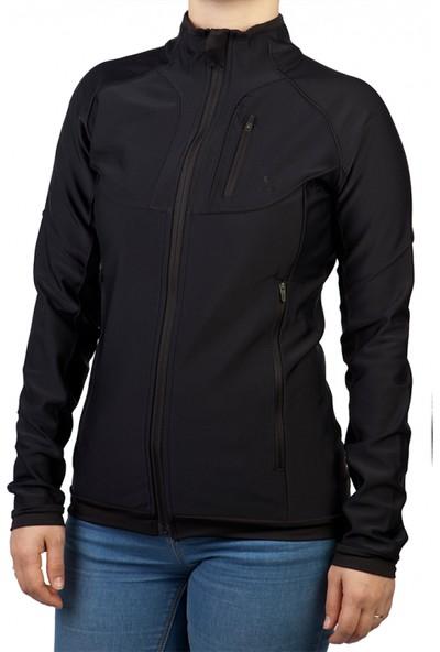 Exuma 172206 Kadın Koşu Ceketi Siyah