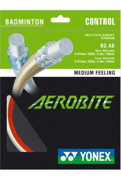 Yonex Aerobıte Badmınton Kordajı (10M) Çift Renk
