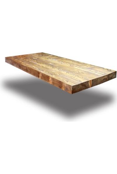 SZN Wood Kütük Masa Ladin Muse 157x70cm