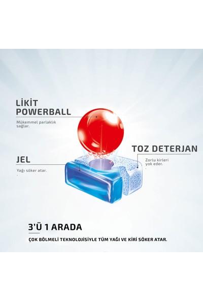Finish Powerball Quantum Bulaşık Makinesi Deterjanı 24 Tablet Çamaşır