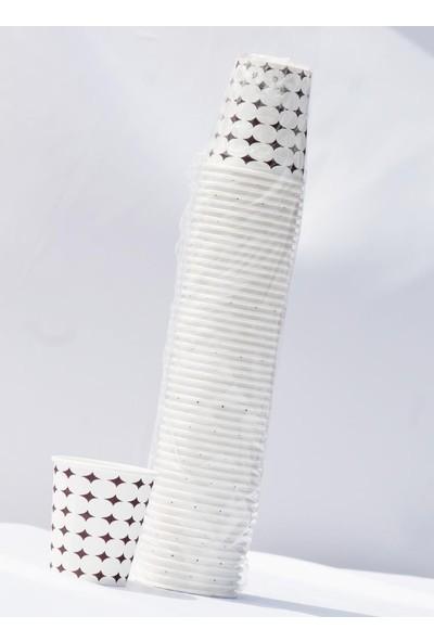 Polente Kullan At Karton Bardak 7 Oz 200 Adet 50'li x 4 Paket
