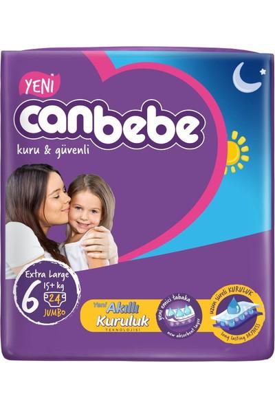 Canbebe Bebek Bezi Jumbo 6 Beden 24 Adet