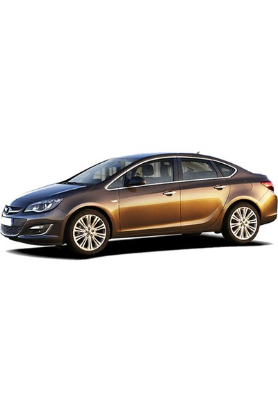 Opel Astra J 3D Bagaj Havuzu Sedan