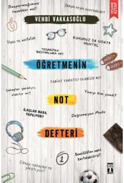 Öğretmenin Not Defteri : 1