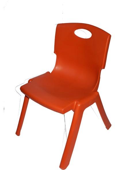 Kırılmaz Çocuk Sandalyesi Kırmızı