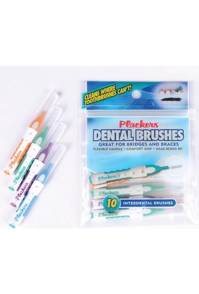 Plackers Uzun Saplı Diş Arayüz Fırçası