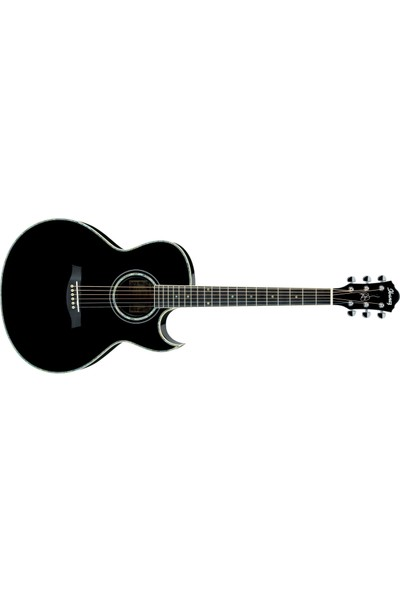 İbanez Jsa10-Bk Elektro Akustik Gitar