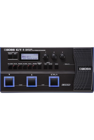 Boss Gt-1 Multiple Effects Gitar Prosesörü