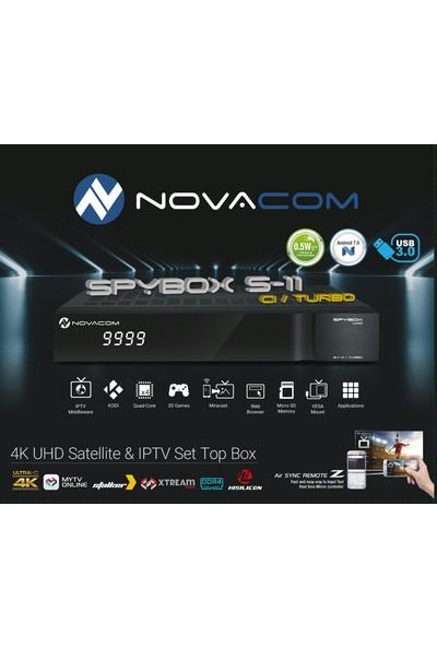 Novacom Spybox S11 Cı 4K Turbo Android Uydu Alıcısı