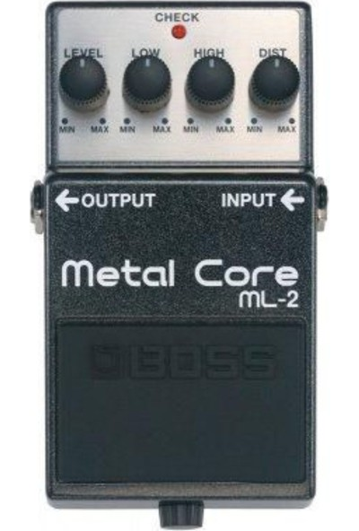 Boss Ml-2 Metal Core Compact Pedal