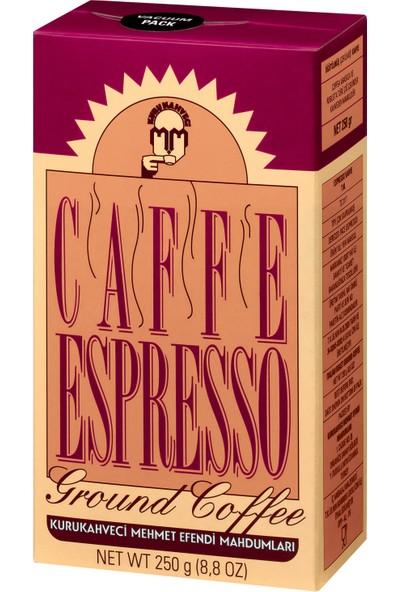 Kurukahveci Mehmet Efendi Espresso 250 Gram