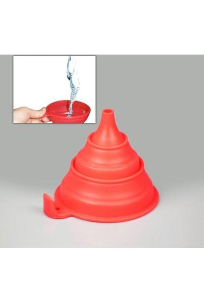 Peak Bays Silicone Folding Funnel Katlanır Huni