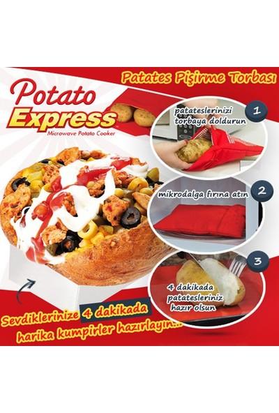 Peak Bays Patates Pişirme Kumpir Torbası Potato Express