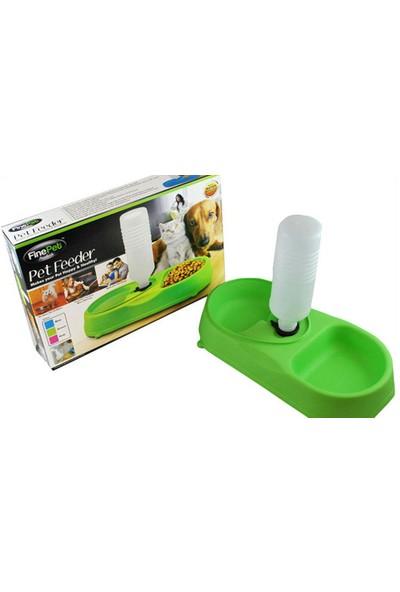 Peak Bays FinePet Pet Feeder Kedi ve Köpek için Yemek Su Kabı