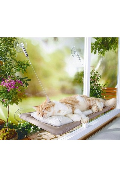 Peak Bays Sunny Seat Cama Asılan Kedi Yatağı