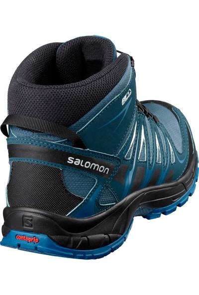 Salomon Mavi Çocuk Outdoor Ayakkabısı L39852800 Xa Pro 3D Mid Cswp J