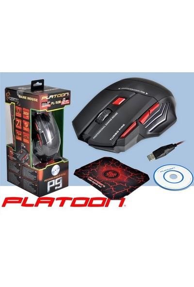 Platoon Pl-1590 3.200 Dpi Professional Cd Li Oyun Mouse