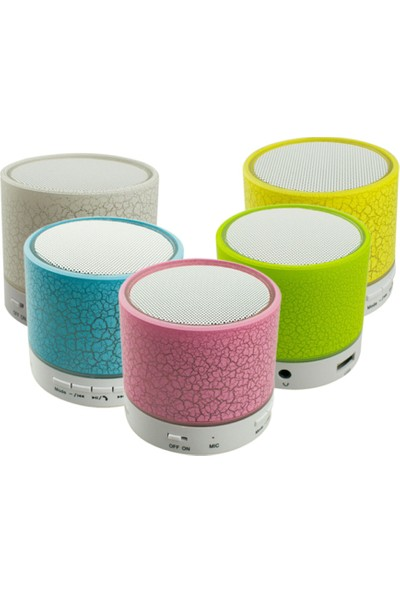 Bawerlin Kbw-353 S3 Işıklı Bluetooth Speaker Fm/Sd/Usb