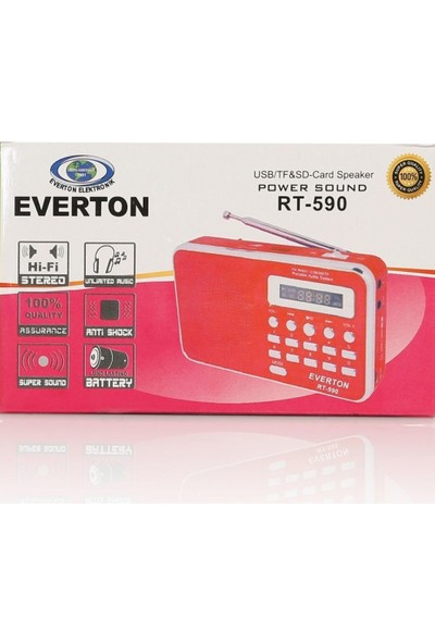 Everton Rt-590 Müzik Kutusu, Radyo, Usb, Sd, Mp3 Player