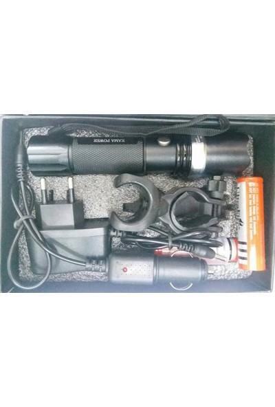 Kama Power Kp-110 Tüfek Aparatlı Şarjlı Elfeneri