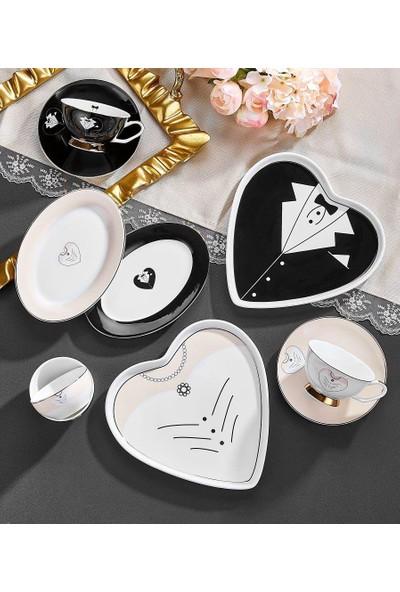 Neva Aşk-ı Neva 10 Parça 2 Kişilik Porselen Kahvaltı Takımı N2503
