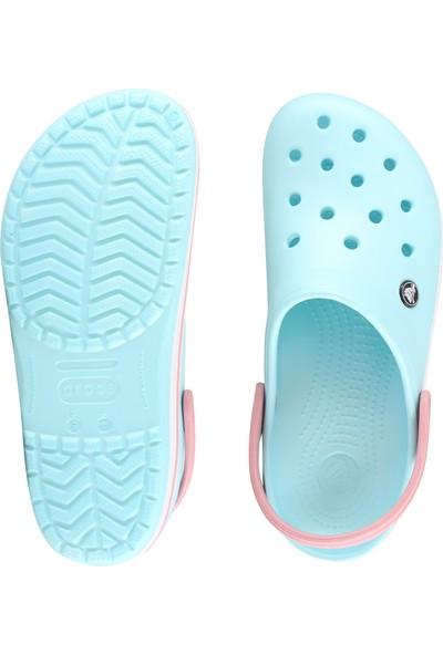 Crocs 11016-4S3 M5/W7 - 37/38 Crocband Bebek Mavi-Beyaz-Pembe