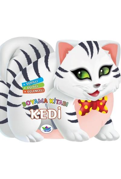 Şekilli, Eğitici, Eğlenceli:Boyama Kitabı: Kedi