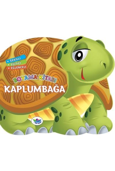 Şekilli, Eğitici, Eğlenceli:Boyama Kitabı :Kaplumbağa