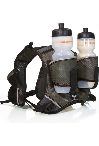 Orange Mud Hydra Quiver Vest Pack 2 Hidrasyon Çantası   Çift Mataralı Gri