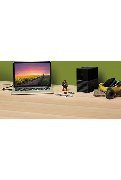 WD My Book Duo 12TB USB 3.1 Kişisel Bulut Depolama WDBFBE0120JBK-EESN