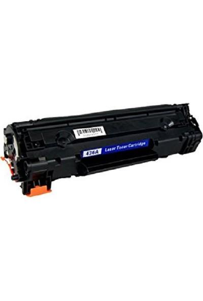 Yüzdeyüz Toner HP Laserjet P1505 M1120 M1522 2.1K HP 36A CB436A Toner Muadil
