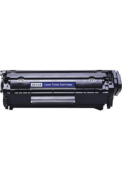 Yüzdeyüz Toner HP LaserJet 1010 1012 1015 3030 2K Q2612A Toner Muadil